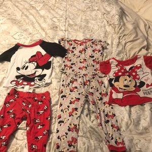 Minnie Mouse pajamas 3T